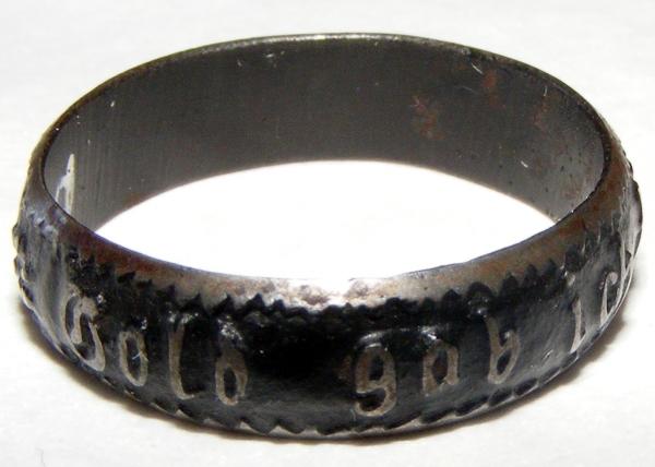 Ring: Gold gab ich für Eisen.
