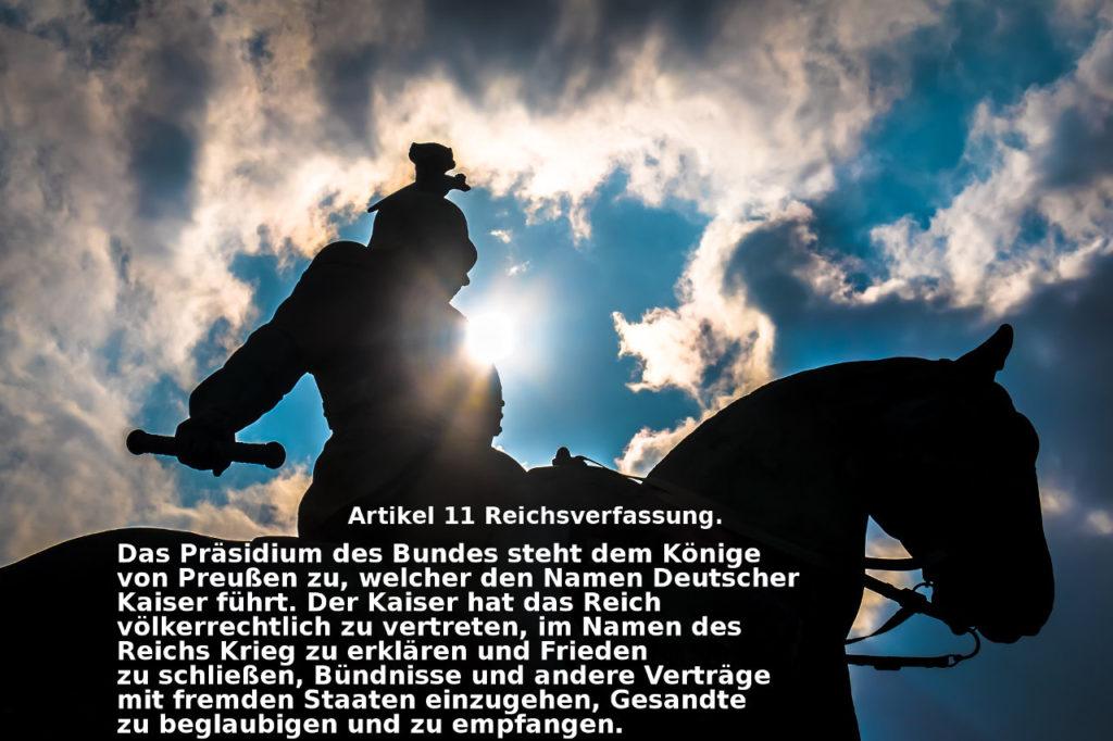 Artikel 11 Reichsverfassung