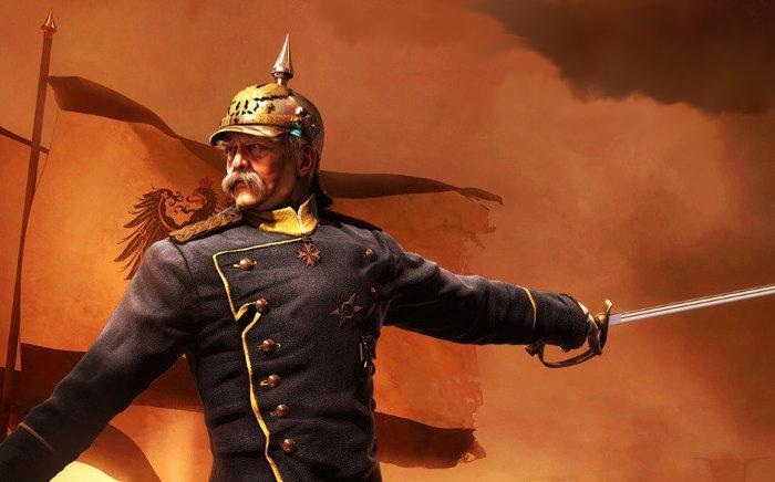Otto von Bismarck im Feldzug